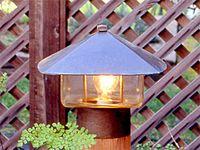 En_lg Bronze Entry Lamp