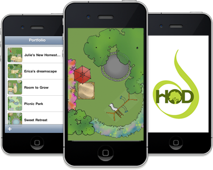 Garden Design App · 3iphones