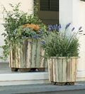 Reclaimed Wood Planter Winterthur