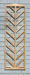 Trellis structures palmate