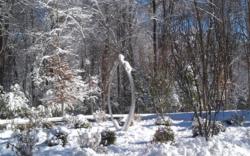 Terra Sculpture Embrace Sculpture - winter