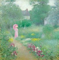 NYBG_Impressionism_Edmund_William_Greacen_In_Miss_Florences_Garden-2