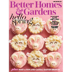 Better Homes U0026 Gardens April *All About Delphiniums *Tulips Through April U0026  May *Epimediums For Everyone *Outdoor Living: On The Porch, At The Beach,  ...