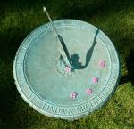 Sundial birdbath 2